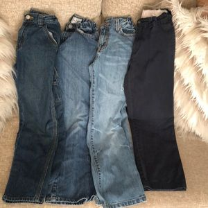 Children's Place Bundle 4 pairs of size 8